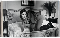Picture of Helmut Newton. Work