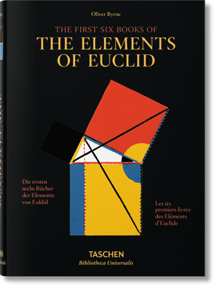 Picture of Byrne. Six Books of Euclid