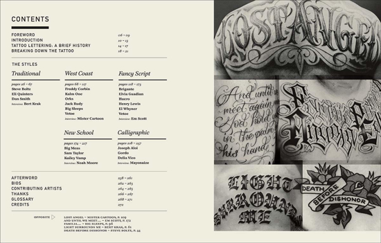 Изображение The Graphic Art of Tattoo Lettering