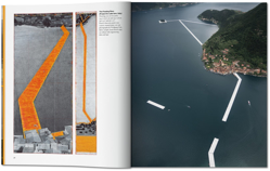 Picture of Christo and Jeanne-Claude. The Floating Piers