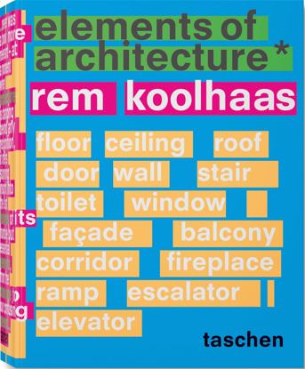 Picture of Rem Koolhaas. Elements of Architecture