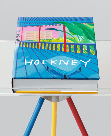 Picture of David Hockney. A Bigger Book