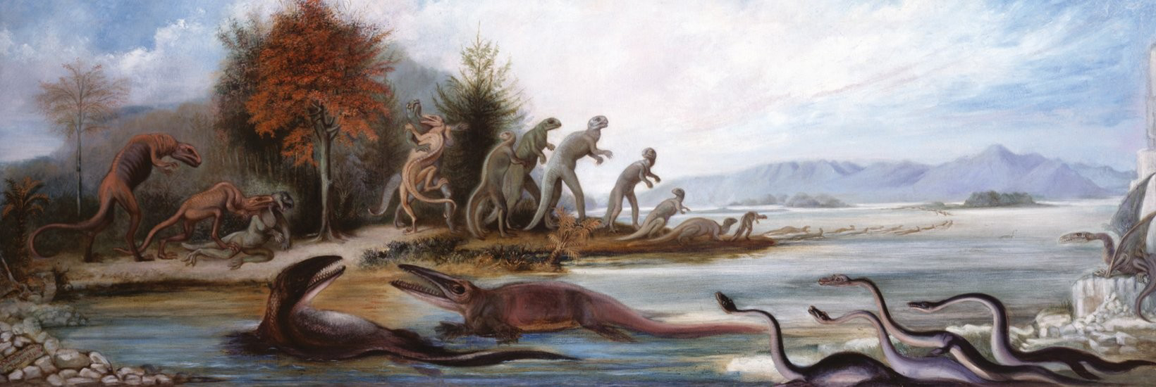 Picture of Paleoart. Visions of the Prehistoric Past