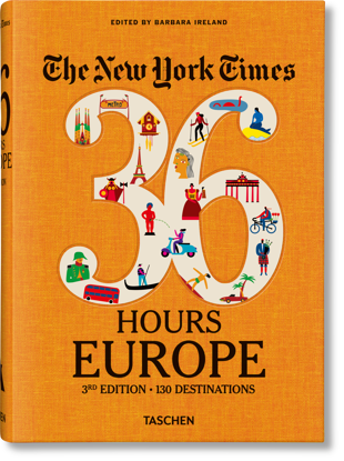 Picture of NYT. 36 Hours. Europe. 3rd Edition