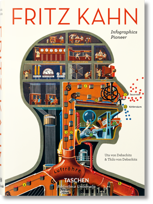 Picture of Fritz Kahn. Infographics Pioneer