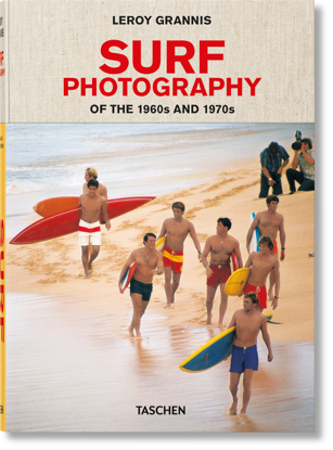 Picture of LeRoy Grannis. Surf Photography