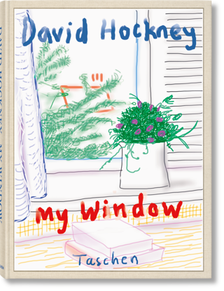 Picture of David Hockney. My Window